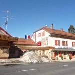 Hotel Arbez Franco-Suisse – szálloda amin áthalad a svájci-francia államhatár