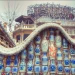 Impozáns turistalátványosság –  a Ci Fangzi porcelán palota