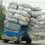 A kínai áruszállítás elképesztő megoldásai