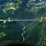 A világ legmagasabb hídja – A kínai Siduhe függőhíd