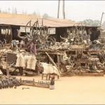 """Félelmetes """"termékeket"""" áruló Voodoo bolt Afrikában"""