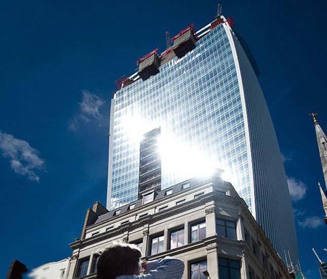 'Walkie Scorchie': London skyscraper