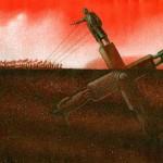 Pawel Kuczynski elgondolkodtató, szatirikus alkotásai #3