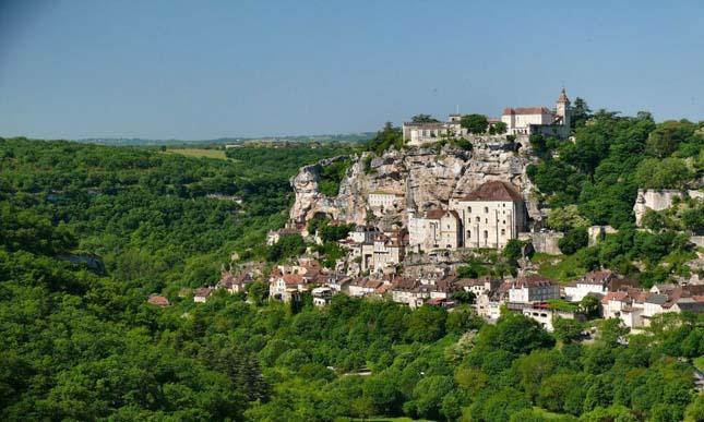 Rocamadour, Franciaország