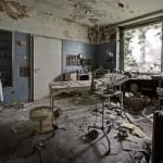 Egy német orvos elhagyatott háza