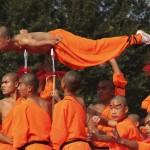 A Shaolin szerzetesek