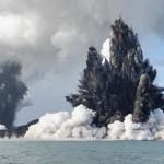 Tengeralatti vulkánkitörés Tongán