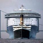 A nap képe – Titanic vs Allure of the Seas