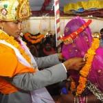 Tömeges esküvők az indiai Vadiában