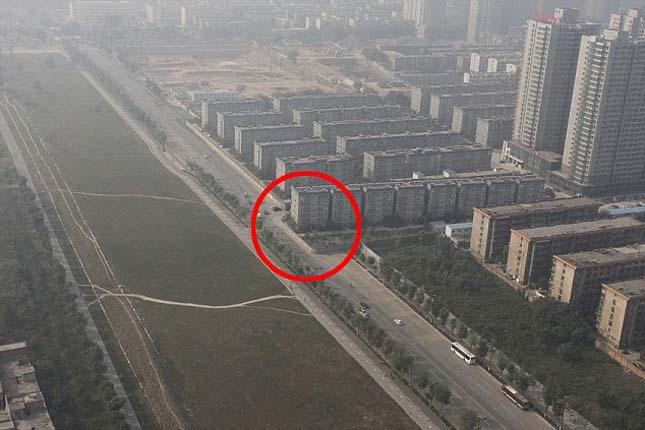 Kilencemeletes úttorlasz épült Kínában