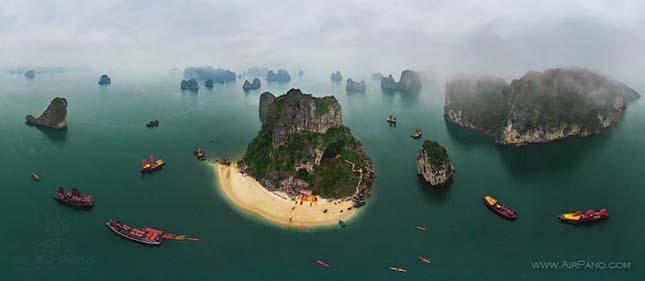 Halong öböl - Vietnam