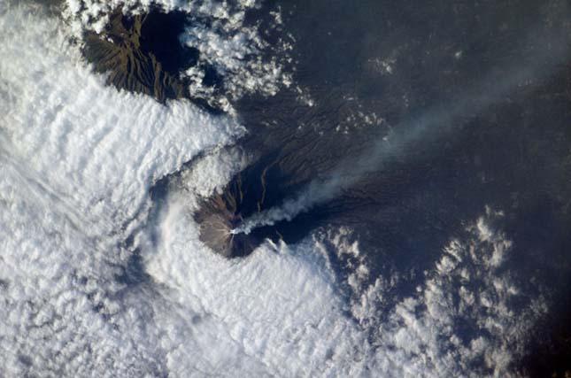 Merapi Vulkán, Indonézia