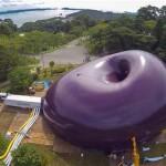 Felfújható koncertterem Japánban