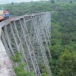 Utazás a Goteik viadukton