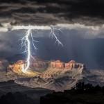 A nap képe – villámlás a Grand Canyonnál