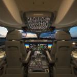 Különböző repülőgépek pilótafülkéje belülről
