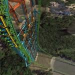 Zumanjaro Drop Of Doom – a világ legmagasabb szabadesést szimuláló szerkezete
