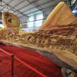 Egyetlen fa törzséből készült 12 méteres mestermű