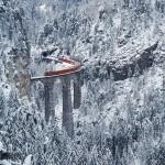 A nap képe – vonatozás az Alpokban