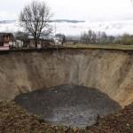 Eltűnt egy boszniai tó vize
