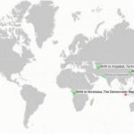Elképesztő statisztika – valós idejű halálozási és születési térkép a Föld lakosságáról