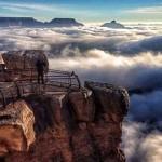 Köd öntötte el a Grand Canyont – 10 évente látható természeti jelenség