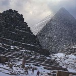 Egyiptomban 112 év szünet után ismét havazott