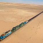 A világ leghosszabb vonata – a mauritániai vasérc-expressz