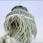 A jégbe fagyott móló – varázslatos természet alkotta látványosság