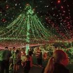 Elképesztő karácsonyi világítás – rekordot szeretne dönteni egy ausztrál család