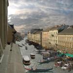 Reitter Ferenc álma – hajózható csatorna a Nagykörút helyén