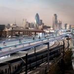 SkyCycle: 220 km expressz bringaút London felett
