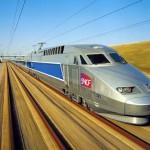 A hagyományos vasút-technika csúcsa  574,8 km/óra végsebességgel