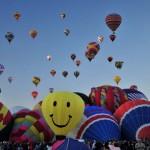 A világ legnagyobb hőlégballon fesztiválja Új-Mexikóban