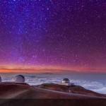 Ilyen csodálatos az égbolt a Mauna Kea csúcsáról