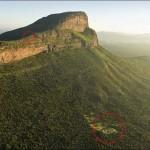 A világ legextrémebb golfpályája szakasza, ahol 434 méter a szintkülönbség