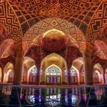 Gyönyörű színkavalkád a Nasir al-Mulk mecsetben