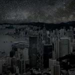 Nagyvárosok mesterséges fények nélkül