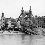 Budapest a bombázások után és a mai időkben