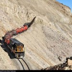 Látványos vasútvonal az Andokban