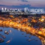 Barangolás Európában egy csodálatos time-lapse videón keresztül