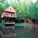 Vadregényes építmények – különleges erdei lakok, távol a világ zajától
