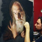 Rubén Belloso Adorna elképesztően élethű portréi
