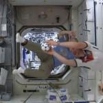 Focival köszöntötték a vb kezdetét a Nemzetközi Űrállomáson