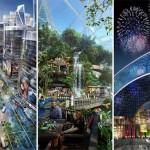 Dubaiban épül a világ legnagyobb bevásárlóközpontja