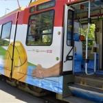 A budapesti vízilabda Eb alkalmából útjára indult a szurkolói villamos
