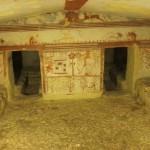 Eddig sohasem látott etruszk sírokat nyitnak meg Tarquiniában
