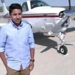 Néhány nappal a cél előtt az óceánba zuhant a Föld körüli repülésére indult 17 éves fiú kisgépe