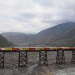 Vasút a felhőkbe – látványos vasútvonal az Andokban