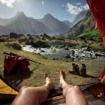Reggeli kilátás a sátorból – A tádzsikisztáni Fan hegyek egy új szemszögből